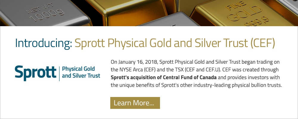 Sprott Physical Gold and Silver Trust